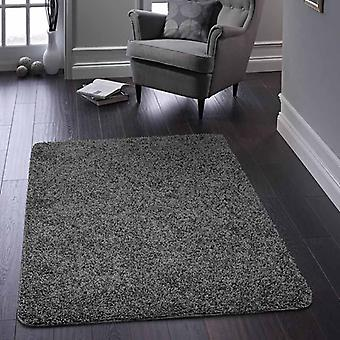 Rugs -Buddy Washable Rugs - Charcoal