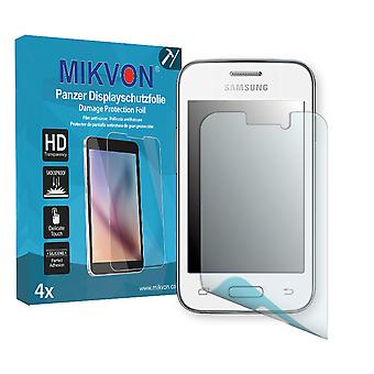 Samsung Galaxy Young 2 Screen Protector - Mikvon Armor Screen Protector (Retail Package with accessories)