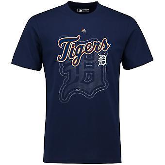 Majestätiska MLB Phlyer skjorta - Detroit Tigers Marinblå