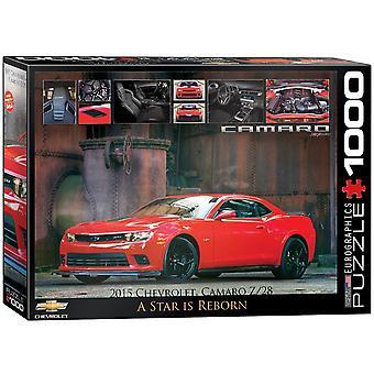 Chevrolet Camaro Star er gjenfødt 1000 stykke puslespill 680 x 490 mm (pz)