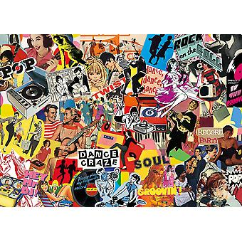 Gibsons Pop Culture Jigsaw Puzzle (1000 pieces)