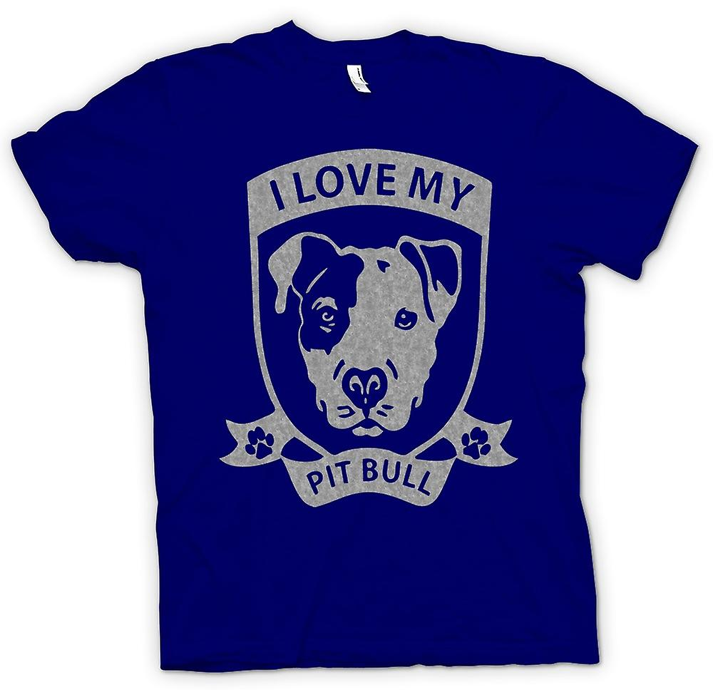 Mens t-shirt - amo mio Pitbull