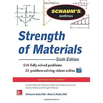Schaum's Outline of Strength of Materials, 6th Edition (Schaum's Outlines)