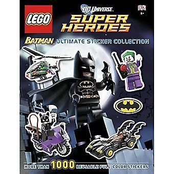 DC Universe Super Heroes Lego Batman Ultimate Sticker Collection (DK Ultimate Sticker Collections)