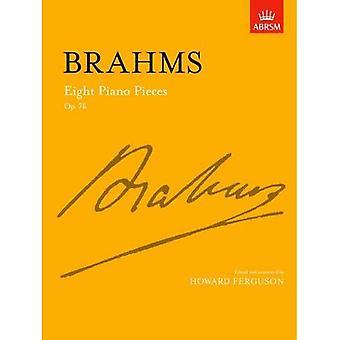 Otte klaverstykker: Op. 76 (underskrift)