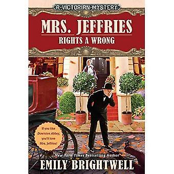 Fru Jeffries rettigheter feil (viktorianske mysterium)