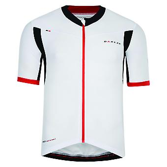 Dare 2B Mens Oscar Pereiro AEP Rouleur Full Zip Short Sleeve Cycle Jersey