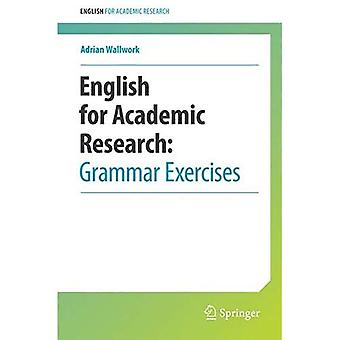 Engelsk for akademisk forskning: grammatikøvelser