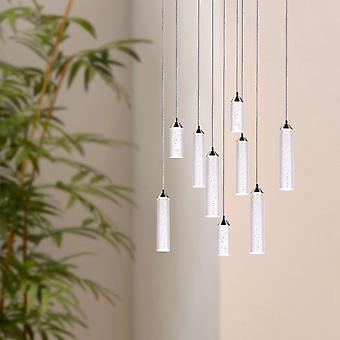 Meteor Nickel modern living room ceiling light Restaurant 9 pendant Round Canopy