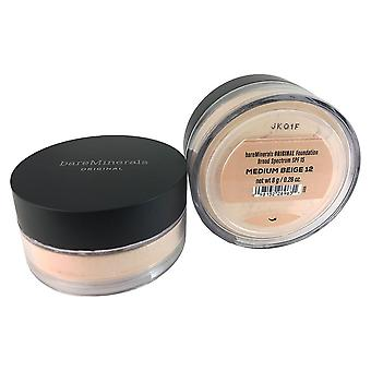 BareMinerals original foundation spf 15 oz.28 moyen beige 12