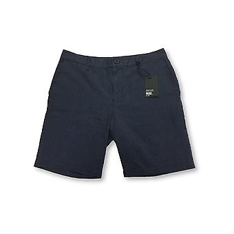 PAIGE Thompson shorts in navy pindot