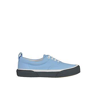 Céline Light Blue Fabric Sneakers
