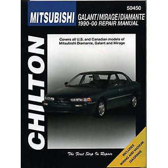 Chilton Mitsubishi Galant/Mirage/Diamante 1990-00 by Nichols - Chilto