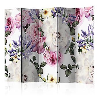 Rumdeler-blomster glade II [værelse dividers]