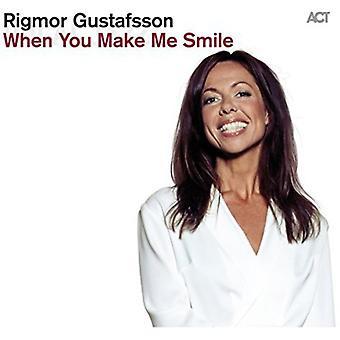Rigmor Gustafsson - When You Make Me Smile [CD] USA import