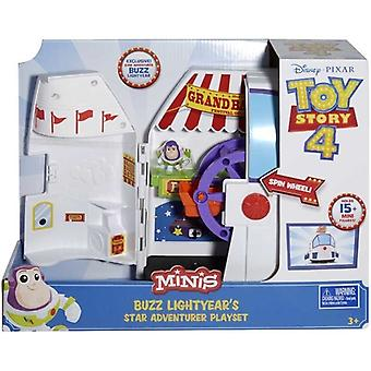 Toy Story 4 Minis Buzz Lightyears Star Adventurer Playset