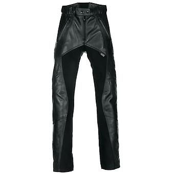 Richa Black Freedom Short Womens Motorcycle Leather Pants