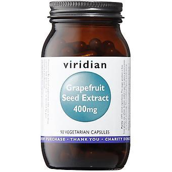 Viridian Grapefruit Seed Extract 400mg Veg Caps 90 (397)