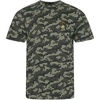 Royal Welch Fusiliers - lizenzierte britische Armee bestickt Camouflage Print T-Shirt