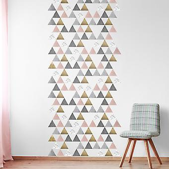 Lindas small triangle wall decals