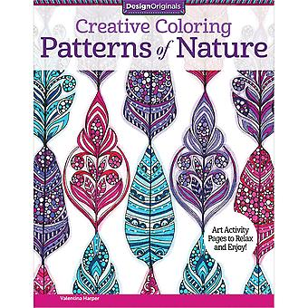 Design Originals-Creative Coloring Patterns Of Nature DO-5541