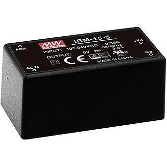 AC/DC PSU (print) Mean Well IRM-15-5 5 Vdc 3 A 15 W