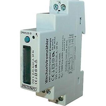 Electricity meter (AC) digital 32 A MID-approved: No VOLTCRAFT