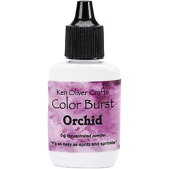 Ken Oliver Color Burst Powder 6gm-Orchid KNCPW-6170