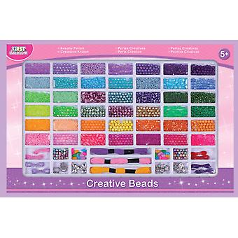 First Classroom Super Box Beads (Toys , Home And Professions , Makeup And Accessoiries)