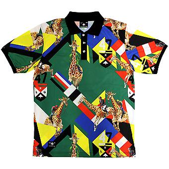 LRG Giraffe Polo-Shirt grün