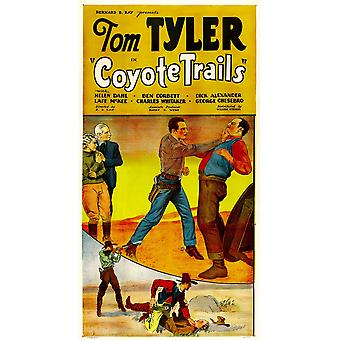 Coyote Trails Center Tom Tyler 1935 Movie Poster Masterprint