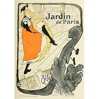 Les Affiches de Toulouse-Lautrec Jane Avril Poster Print by  Henri de Toulouse-Lautrec