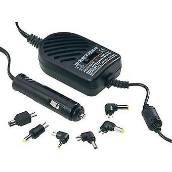 VOLTCRAFT SMP-20A 18W Multi-Voltage In-Car Charger, DC/DC Converter 1.5 - 12Vdc 1.5A