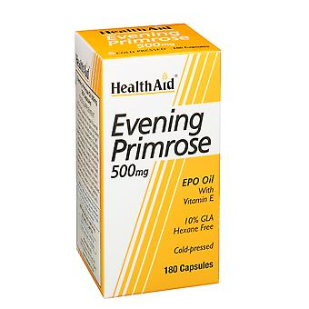 Health Aid Evening Primrose Oil 500mg + Vitamin E ,  180 caps