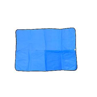Cooling Dog Mat & Bag Navy 32