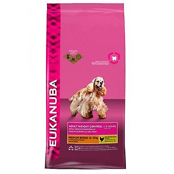 Eukanuba Dog Adult Weight Control Medium Breed Chicken 12kg