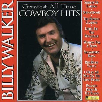 Billy Walker - største alle tid Cowboy Hits [CD] USA import