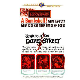 Stakeout op Dope Street [DVD] USA import