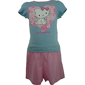 Girls Charmmy Kitty Hello Kitty Short Sleeve – Pyjamas
