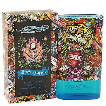 Christian Audigier Men Ed Hardy Hearts & Daggers Eau De Toilette Spray By Christian Audigier