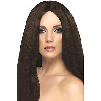 Star-style wig, Brown