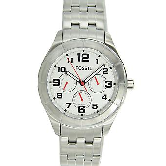Fossil men's watch wristwatch stainless steel BQ1408