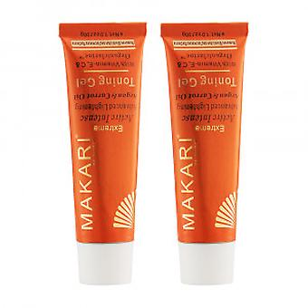 Makari Extreme Carrot & Argan Gel - 2 Packs