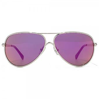 Wildfox Airfox II Deluxe Sunglasses In Silver