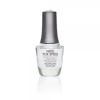 Morgan Taylor Morgan Taylor – Need For Speed Fast Dry Top Coat