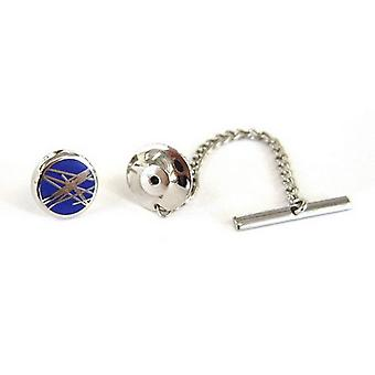 Tyler and Tyler Diffusion Tie Pin - Navy