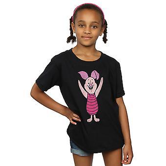 Disney dziewczyny Kubuś Puchatek Prosiaczek klasyczny T-Shirt
