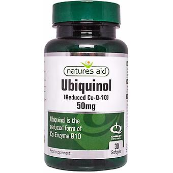 Natures Aid Ubiquinol 50mg, 30 Softgels