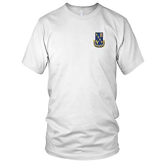 Amerikanske hær - 129th infanteriregiment broderet Patch - Herre T-shirt