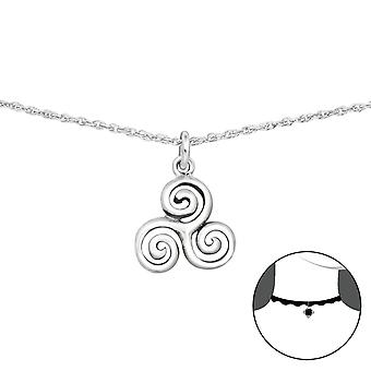 Triskelion - 925 Sterling Silver Chokers